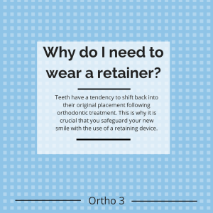 Why do I need to wear a retainer?